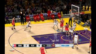 NBA 2K13 Shohoku vs Kainan Slam dunk - PC Gameplay