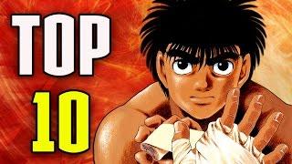 TOP 10 HAJIME NO IPPO OPENINGS / ENDINGS