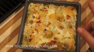 Easy Baked Potato Bacon & Cheese Recipe