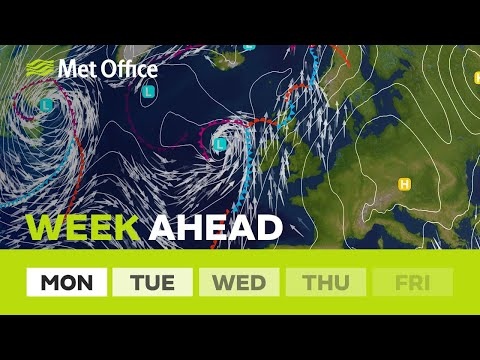 Week ahead – Will the showers stop this week?