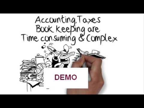 give you a TAX, ACCOUNTING, BOOK KEEPING whiteboard video