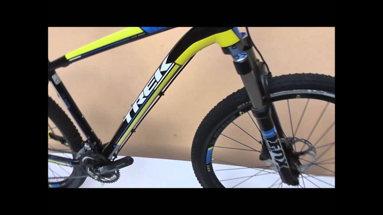 Trek Elite 8 9 - YouTube