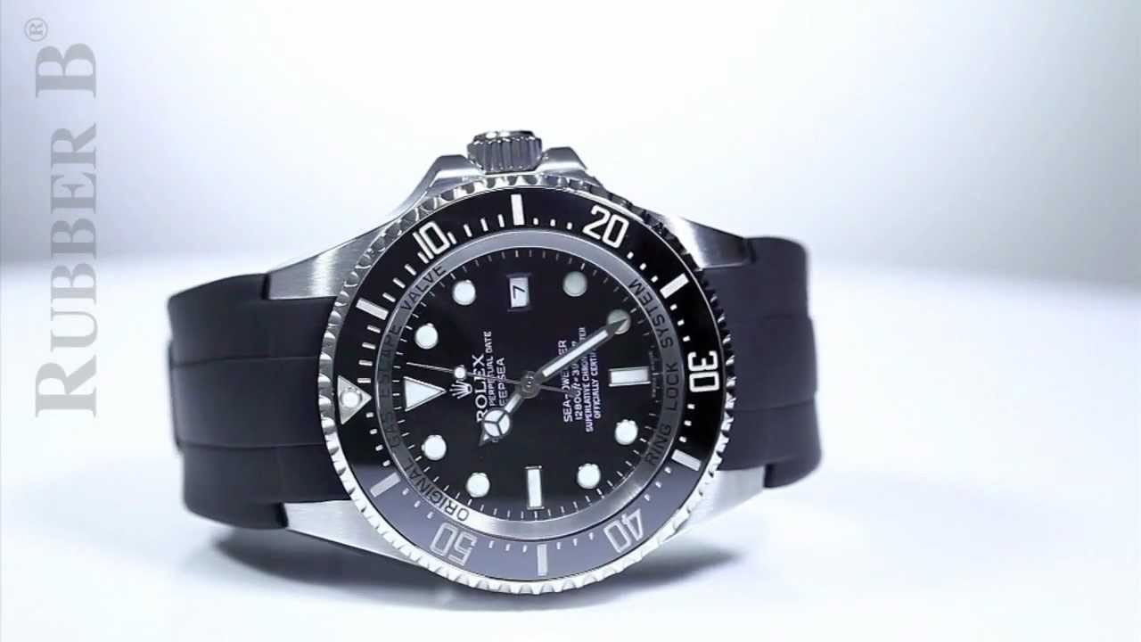 Rolex Rubber Rolex Deepsea On Rubber B