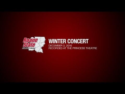 Roane State Community College Winter Concert 2016