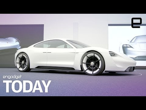 Porsche takes aim at Tesla with the upcoming Mission E | Engadget Today