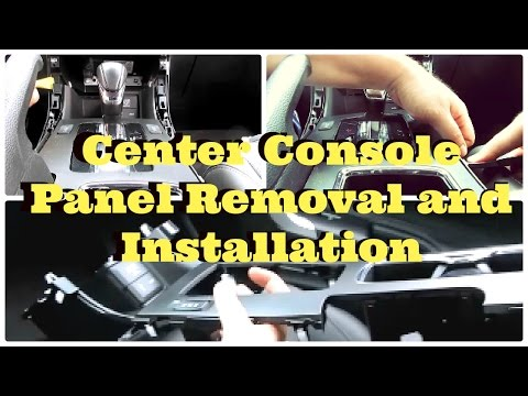 Tutorial 2013 - 2017 Honda Accord Center Console Panel Removal and Installation