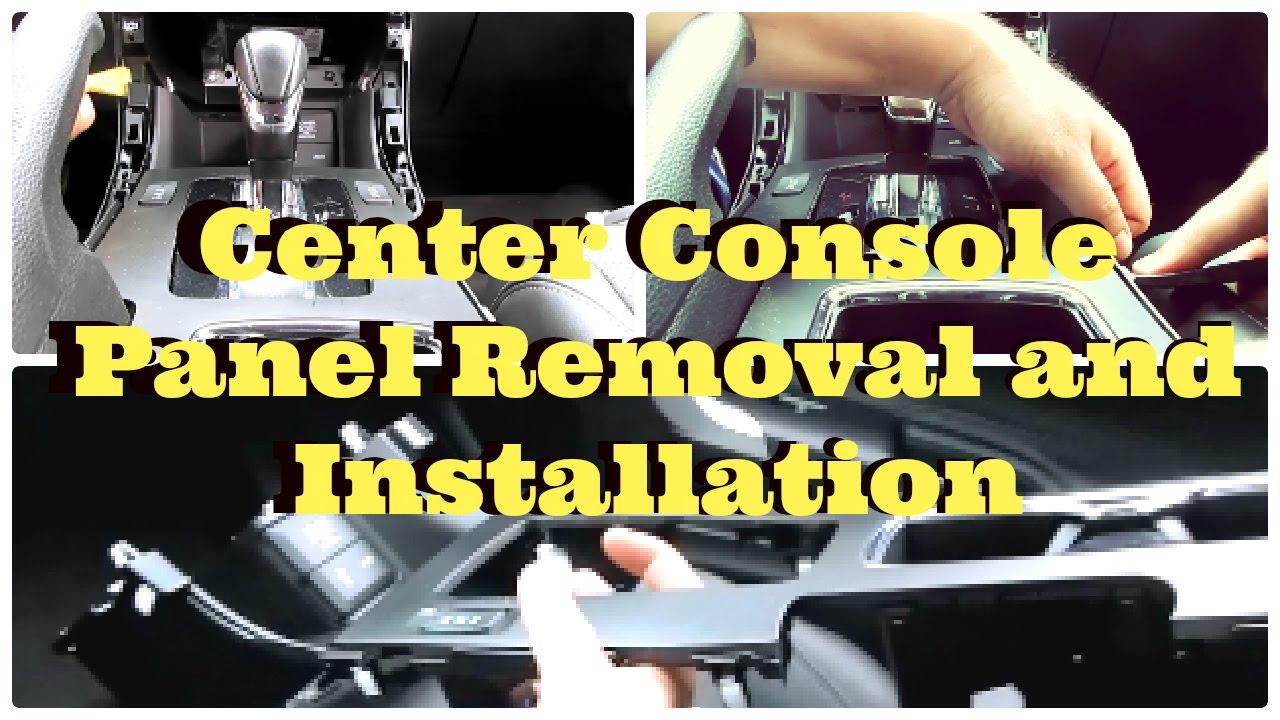 medium resolution of tutorial honda accord center console panel removal and installation diycarmodz youtube