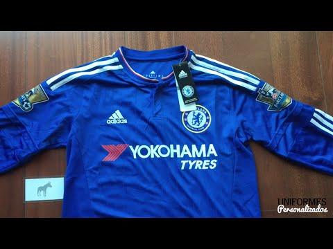 Chelsea 15-16 (Playera Manga Larga Local) Premier League.