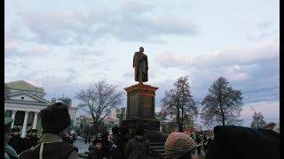 В Челябинске открыли памятник Столыпину