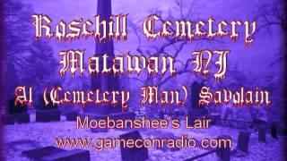Rosehill Cemetery Man Historian Al Savolaine