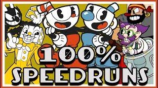 Cuphead 100% Speedruns