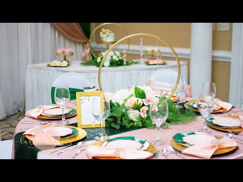 DOLLAR TREE GLAM BABY SHOWER| GET A LUXE LOOK FOR LESS| LIVING LUXURIOUSLY FOR LESS
