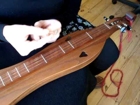 Traditional mountain dulcimer BEGINNER#1 the NOTER