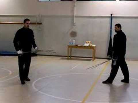 Two swords vs two swords 1 (Marozzo)