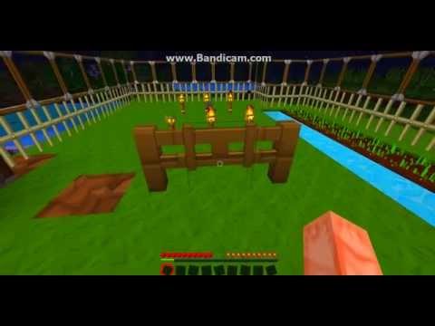 So Craftet Man Zaune Und Zauntore Bei Minecraft Youtube