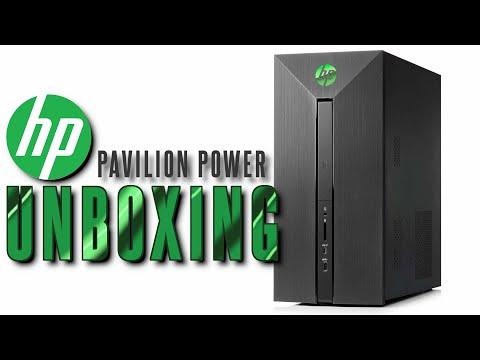 Unboxing HP Pavilion Power Desktop
