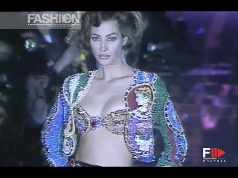 GIANNI VERSACE Fall 1991/1992 Milan – Fashion Channel