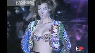 GIANNI VERSACE Fall 1991/1992 Milan - Fashion Channel