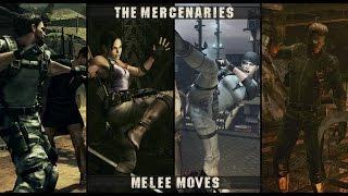 Resident Evil 5 PC: [Mercenaries/ Melee moves]