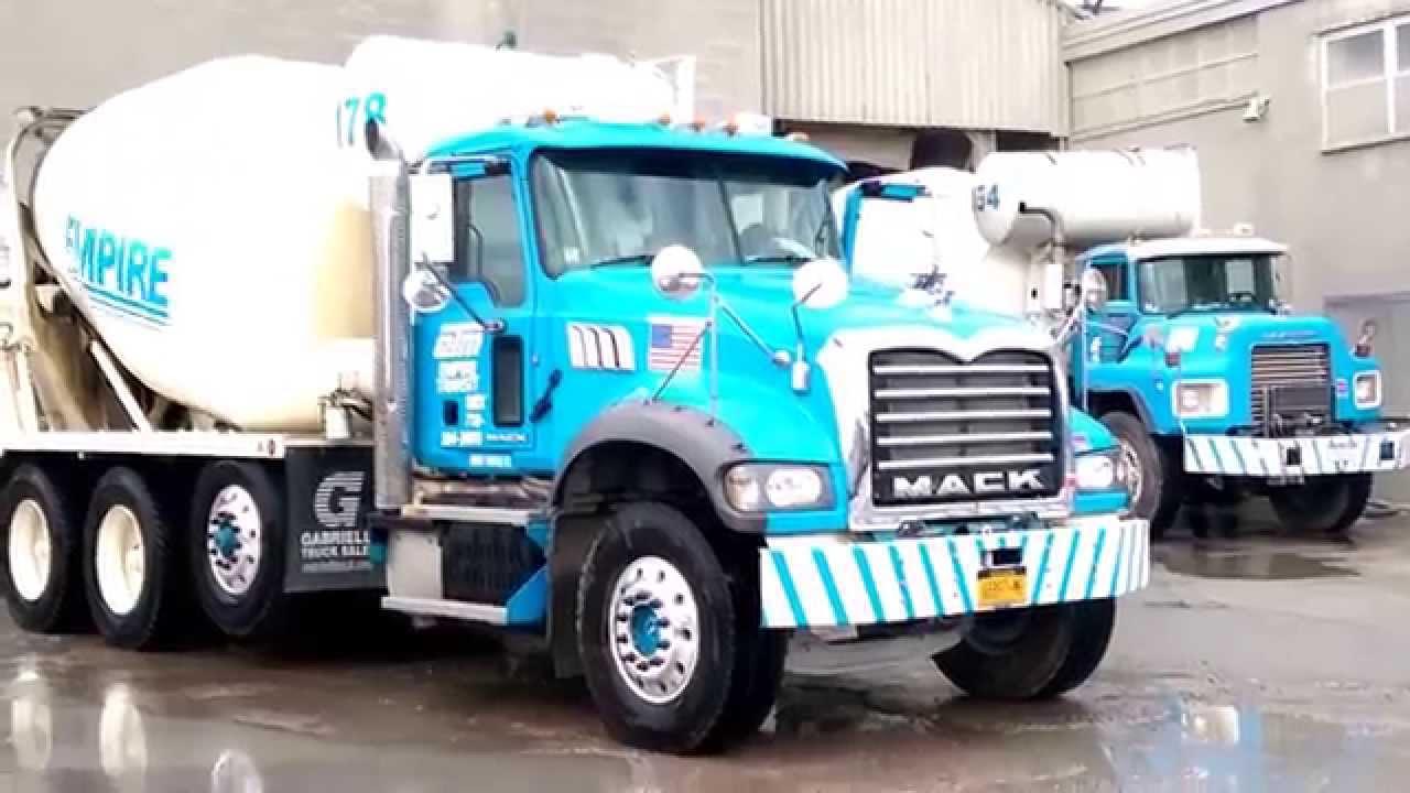 Empire Transit Mix : Empire transit mix mack concrete trucks youtube
