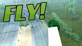 American Truck Simulator Top Speed 1 000 000 Mph And Epic Crash