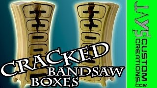 Trash To Treasure - Cabinets to Bandsawn Jewelry Box - 112