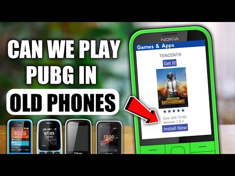 Can We Play Pubg In Old Java Phones 😂|| How To Install Android Games In Keypad Phones