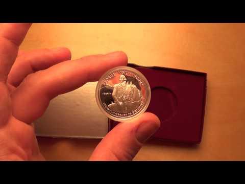 1982 President George Washington Proof Silver Half Dollar USA Coin In Gift Presentation Box