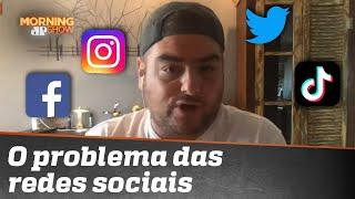Rica Perrone alerta para falsa realidade nas redes sociais
