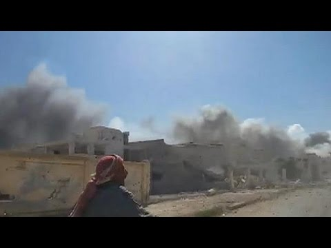 Russian fighter jets target Syrian insurgents