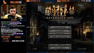 Diablo 2 - SANTA BRING US MANG SONG'S LESSON - Holy Grail Sorc (12/24/2019)
