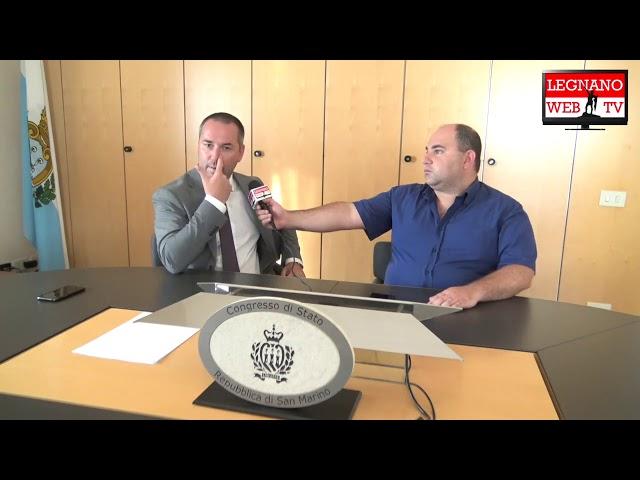Intervista al Segretario di Stato della Repubblica di San Marino