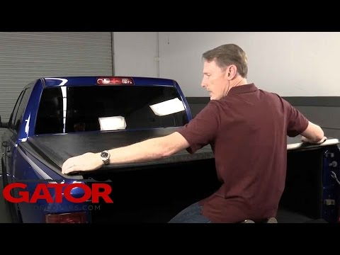 How To Install Gator Sr1 Roll Up Tonneau Cover On A Ram 1500 Youtube