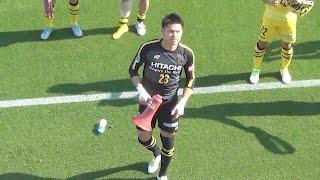 2017年5月20日、ジュビロ磐田戦の試合後です。 強いぞ柏!PK取り消しも...