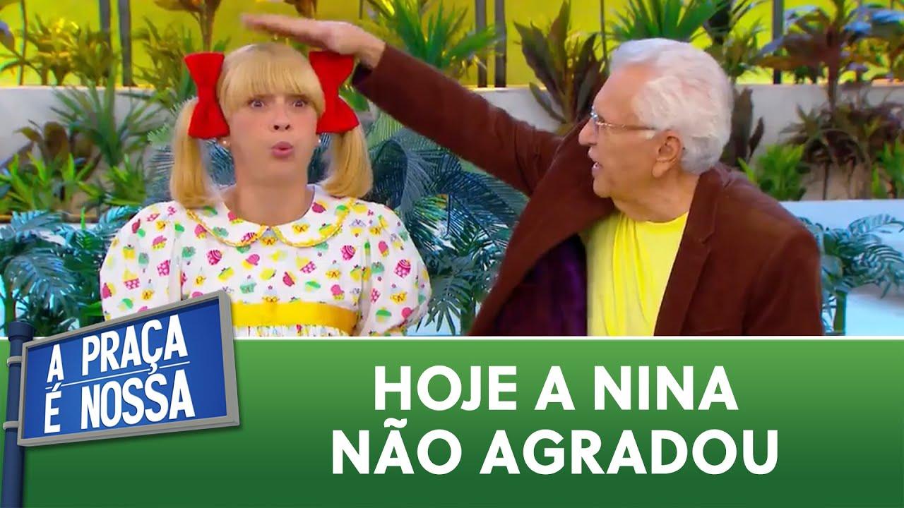 A Nina se divertiu, mas o Cazalbé... | A Praça é Nossa (14/01/21)