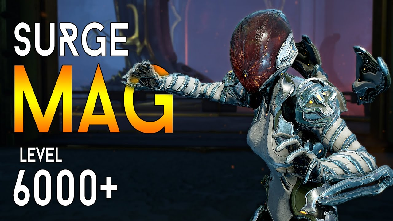[WARFRAME] Breach Surge MAG | vs Level 6000+ | Steel Path - Hard Mode Survival thumbnail