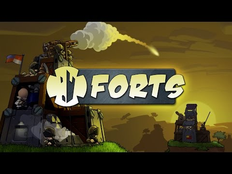 Forts Gameplay - Learning to Build!!