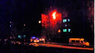 Пожар в общ1 Южноукраинск