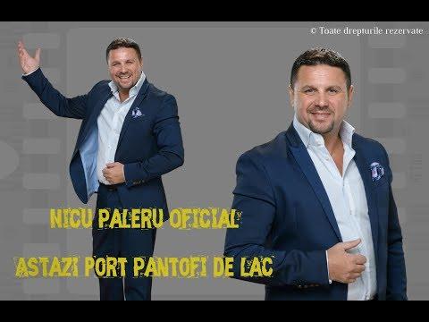 Nicu Paleru - Astazi port pantofi de lac NOU noiembrie 2017