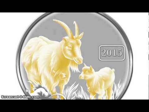 Tokelau Lunar Goat  & Salvador Dali coin $299,000