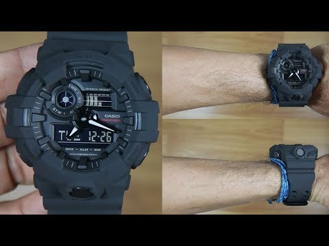 f261bae2557 CASIO G-SHOCK 35th Anniversary GA-735A-1A BIG BANG BLACK - UNBOXING