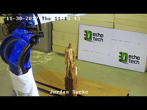 3D Echo Tech Live Stream - Sculpture exhibition at WPP Stream conference