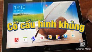 Đánh giá Samsung Galaxy Note 10.1 máy tính bảng củ