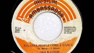 Jah Walton - All Kina People Come A Dance