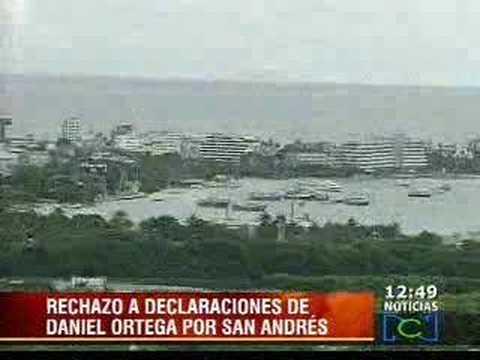Tensión en la frontera marítima con Nicaragua