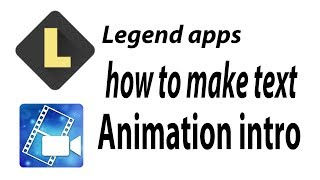 how to make video text animation