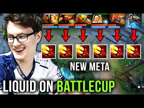 Team Liquid with Miracle- on Battlecup New Meta Full Team Dagon? Secret TI9 Strat Dota 2 thumbnail