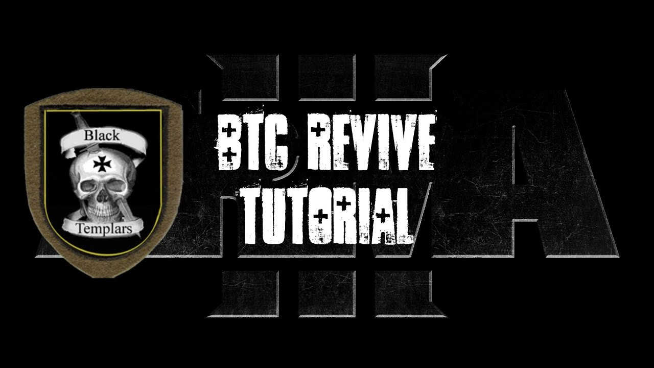 ArmA 3 BTC Revive Tutorial - VERY IMPORTANT: I left out a required line in the description.ext: