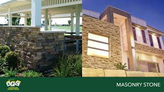 Masonry stone has an array of products to suit your style