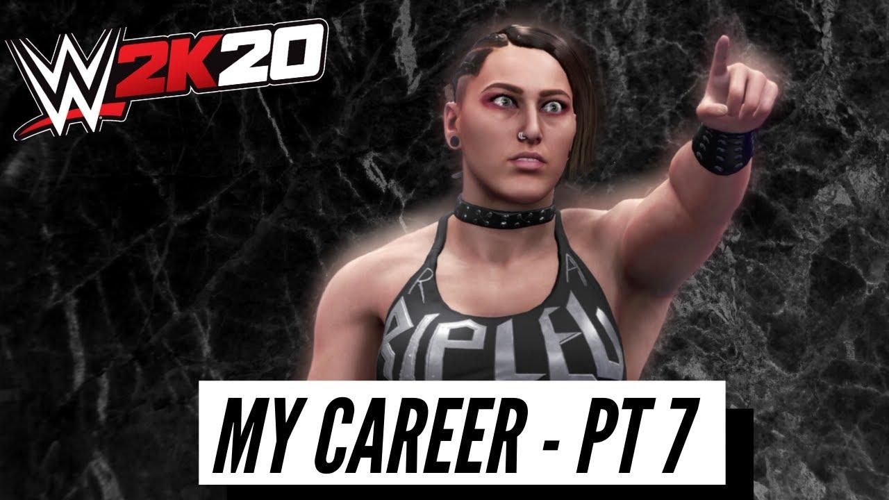WWE 2K20 CHAPTER 7 MY CAREER
